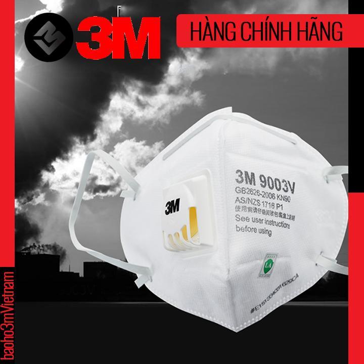 [COMBO 25] 3M9003V - KHẨU TRANG TRẺ EM LỌC BỤI MỊN ĐẠT CHUẨN PM2.5