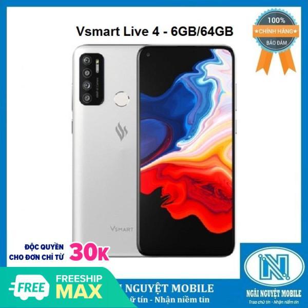 Điện thoại Vsmart Live 4 - 6GB/64GB - Chính hãng