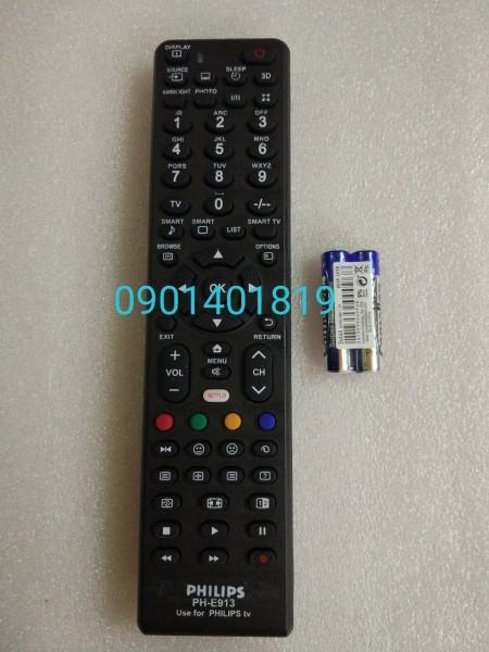 Bảng giá Điều Khiển Tivi Philips PH - E913 ( Hàng Tốt )