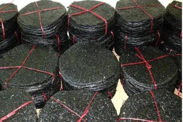 Bánh đa vừng đen sống ( chưa nướng ) -10 cái