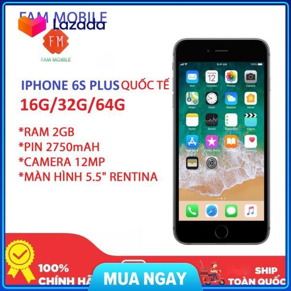 Bán điện thoại iphone 6S Plus 64Gb, và 16GB Quốc Tế, Máy nguyên zin, vân tay và các chức năng kgacs trên máy sử dụng ổn định, cam kết máy nguyên zin không qua sửa chữa.