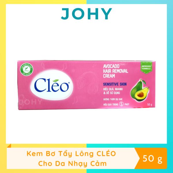 Kem Bơ Tẩy Lông CLÉO Dành Cho Da Nhạy Cảm (50g)
