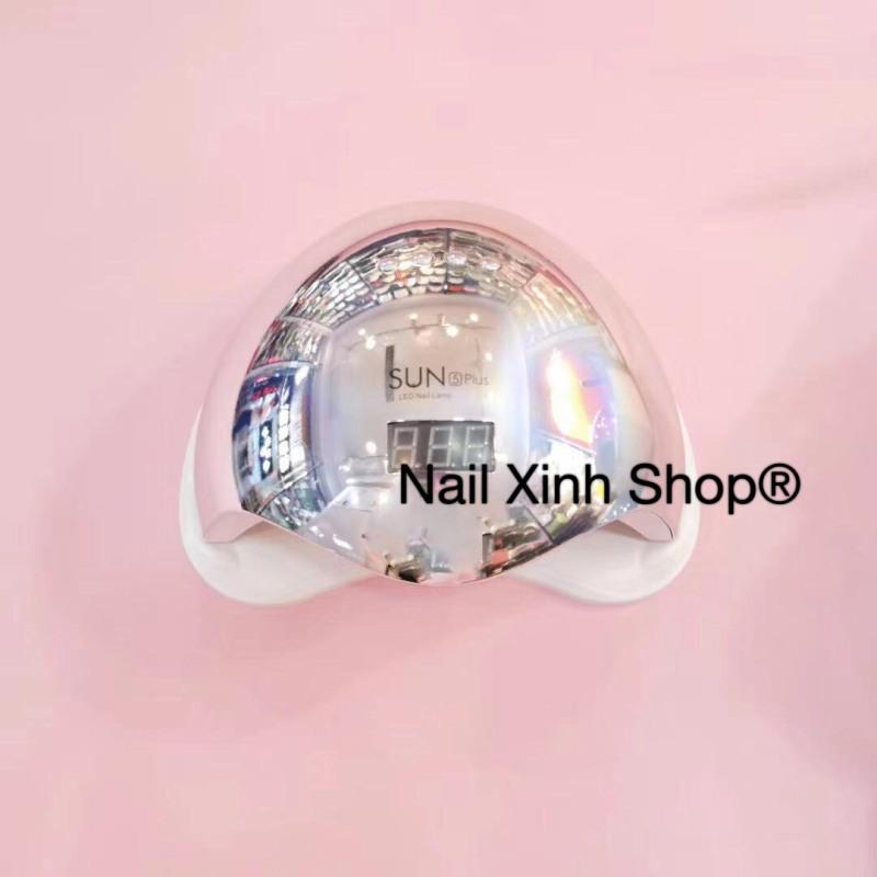 Máy hơ gel sun 5 plus UVLED 48w tráng gương,máy hơ sơn gel móng tay, phụ kiện nail chuyên dụng nail salon