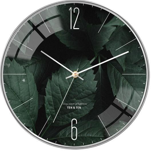 Đồng hồ treo tường ( Phiên bản Lá cây đặc biệt) - Kim trôi bán chạy
