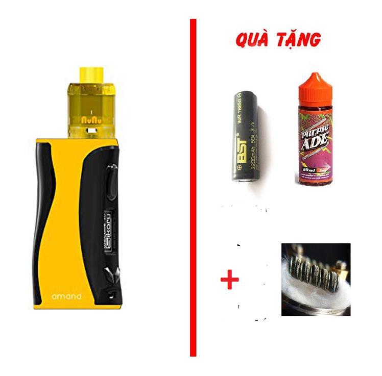 Combo Amand kit 100w kèm pin sạc dầu 30ml