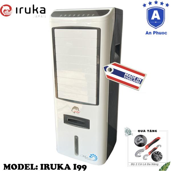 Bảng giá Quạt hơi nước làm lạnh không khí Iruka I99 Made In Thái Lan | Công suất 200W | Màn hình cảm ứng có remote điều khiển | BH 12 Tháng Tại Điện Máy LACI | Tặng Bộ 2 Cờ Lê Đa Năng