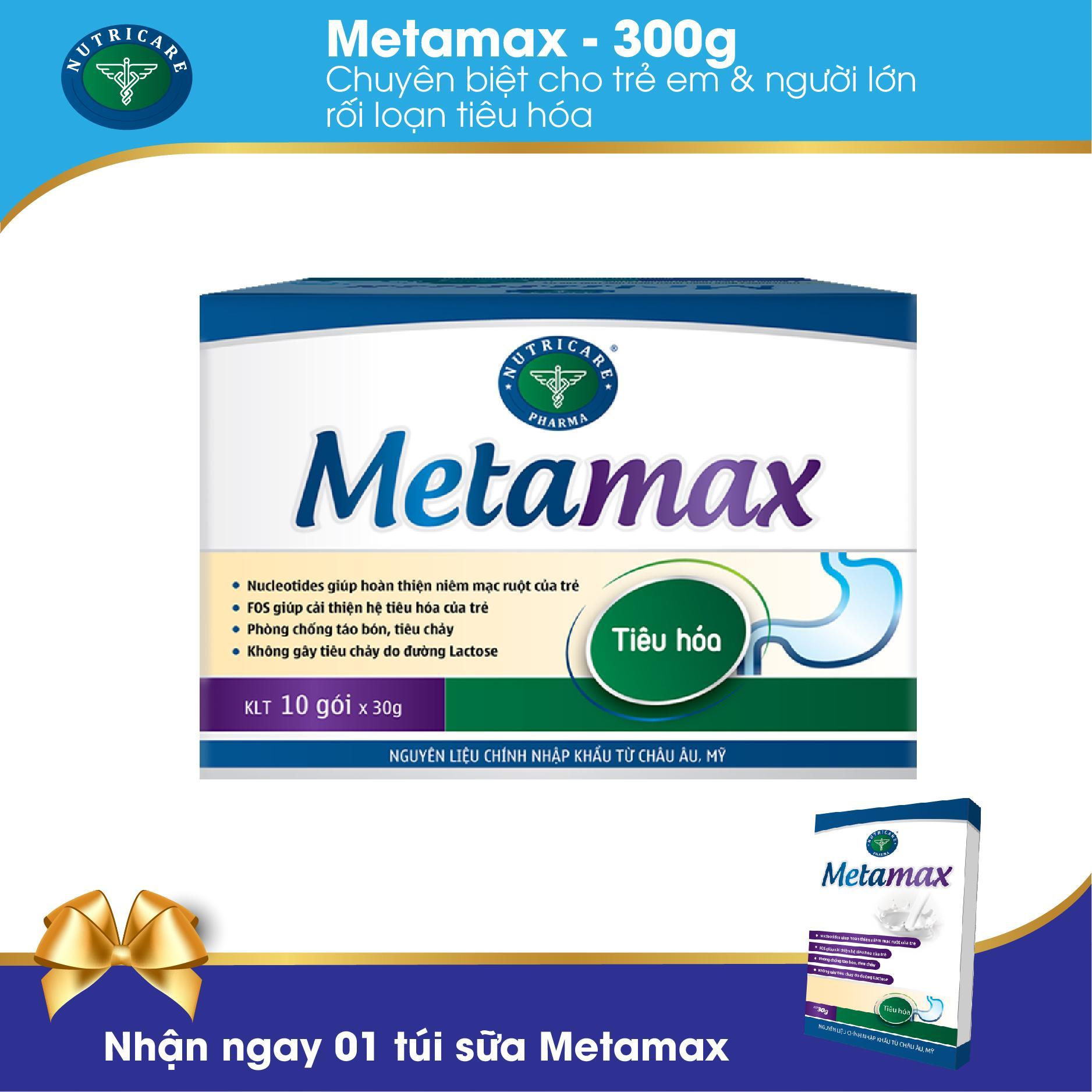Sữa bột dạng gói Metamax 300g - cho người rối loạn tiêu hóa cao cấp