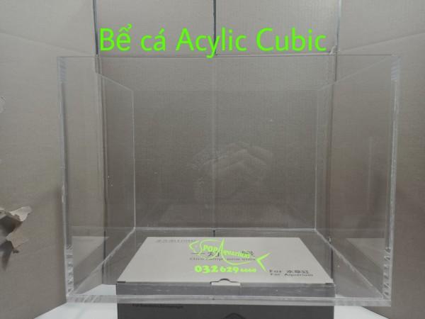 bể cá acylic - cubic 30cm