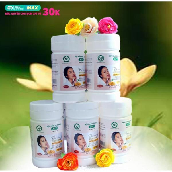 Bột Mầm Đậu Nành X5, bổ sung Collagen, Betaglucan (Tặng Gói Nhỏ Trà Mầm Ngũ Cốc)