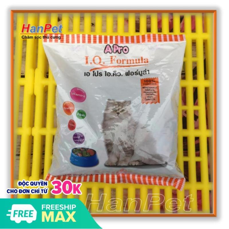 HCM-Thức ăn viên cho mèo APRO - Xuất xứ Thái Lan - Dùng cho mèo mọi lứa tuổi - Gói 500gr (hanpet 236)-HP10378TC