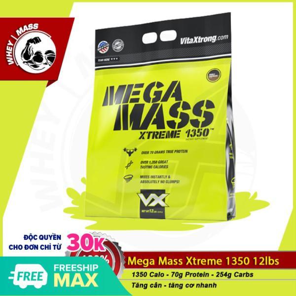 [HCM]Sữa Dinh Dưỡng Tăng Cân Nhanh VITAXTRONG MEGA MASS 12lbs (5.6 kg) cao cấp