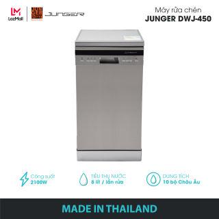 Máy rửa chén Junger DWJ-450 - Công suất 2100W | Bảo hành 2 năm chính hãng | MADE IN THAILAND