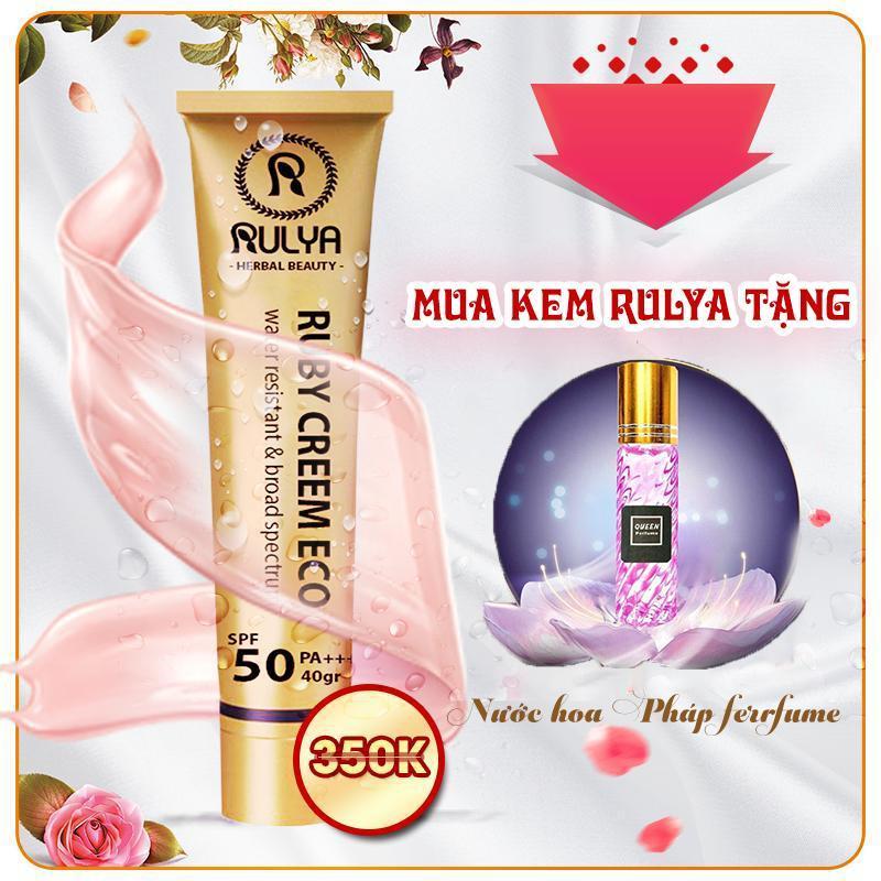 Kem Nền Che Khuyết Điểm Chống Nắng RULYA - Tặng kèm nước hoa Queen Perfume
