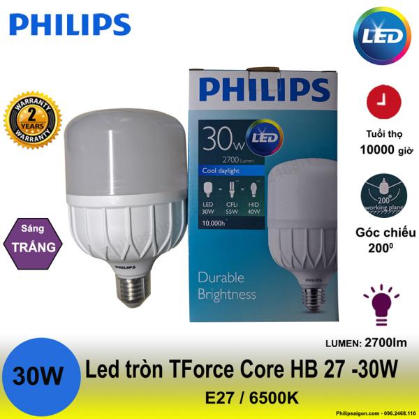 Bảng giá [Xả hàng] Bóng đèn Led trụ Philips 20W / 30W / 40W / 50W độ sáng cao, nhựa cao cấp giúp hạn chế vỡ và chống con trùng, tiết kiệm đến 60% điện năng, hoạt động ở điện áp thay đổi 170V- 240V - Bảo hành 24 tháng- PhilipSaigon