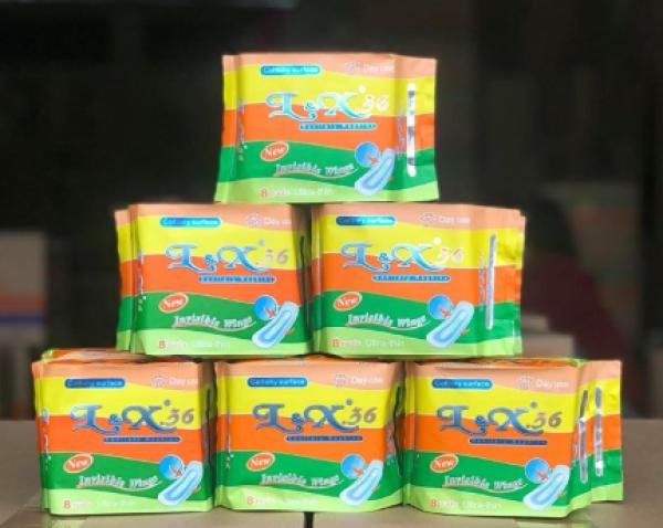[ CÓ BẠC HÀ ] Băng vệ sinh L&X 08 - Cánh tàng hình cao cấp - Khử mùi kháng khuẩn cao cấp