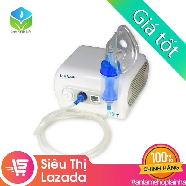 Máy xông mũi họng, máy xông khí dung Biohealth Neb Easy chính hãng Úc, sản xuất tiêu chuẩn Châu Âu, bảo hành 3 năm, an toàn, dễ sử dụng, máy gọn nhẹ không gây tiếng ồn cao cấp