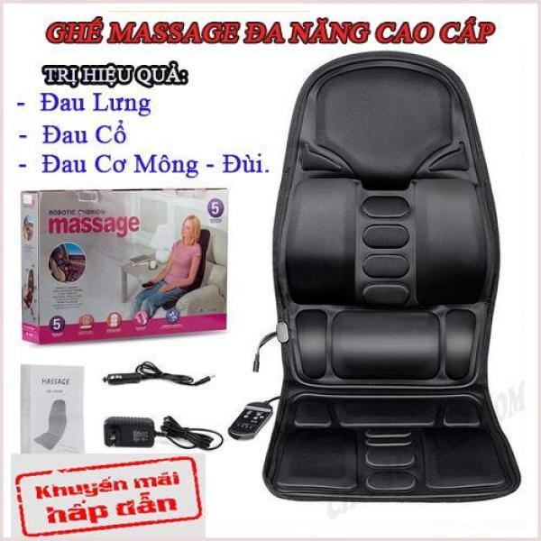 Nệm (Đệm) massage toàn thân Elip - Ghế Mát Xa Đa Năng Toàn Thân giảm stress, lưu thông khí huyết, giảm đau nhức toàn cơ thể cao cấp