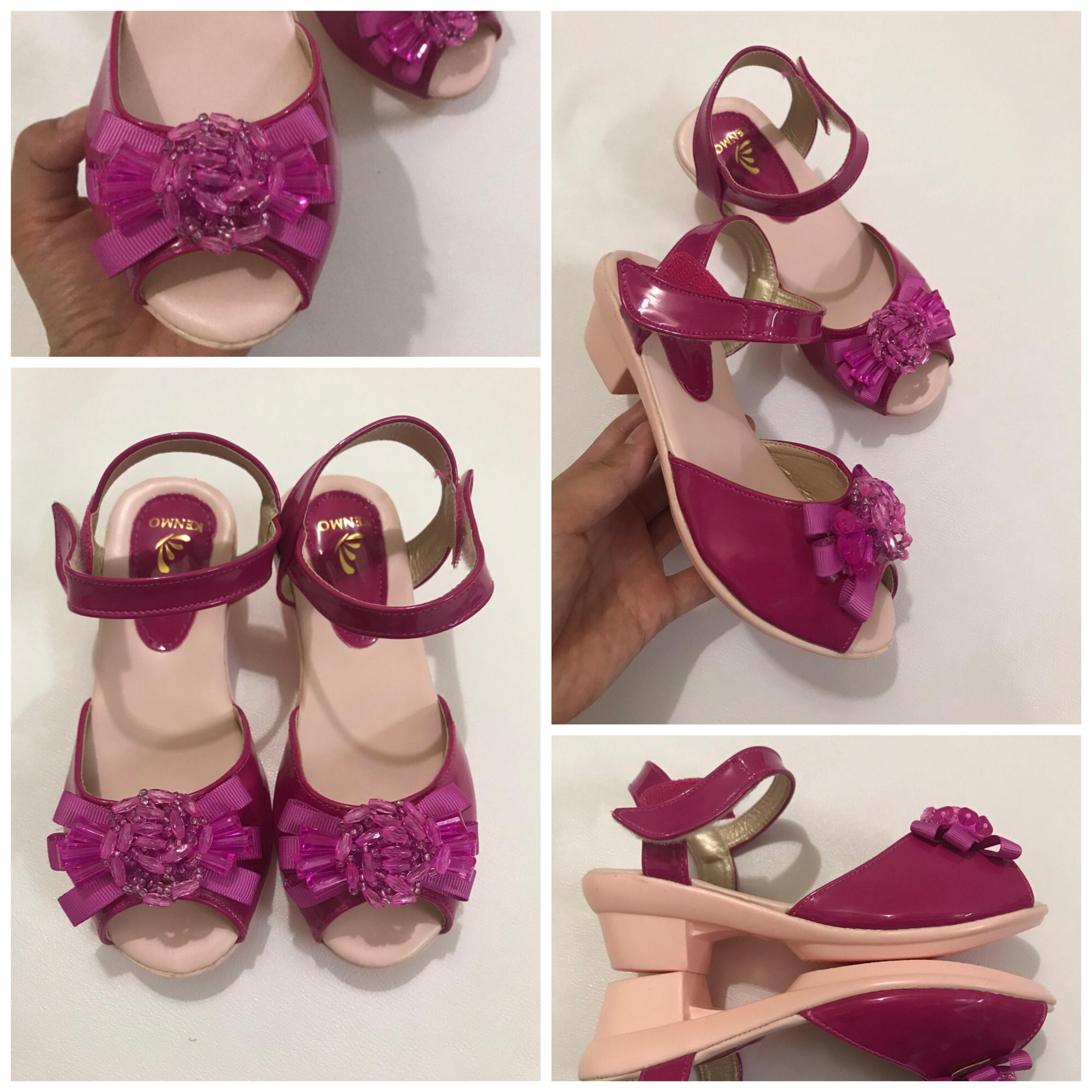 Giá bán Sandal cao gót bé gái xinh xinh