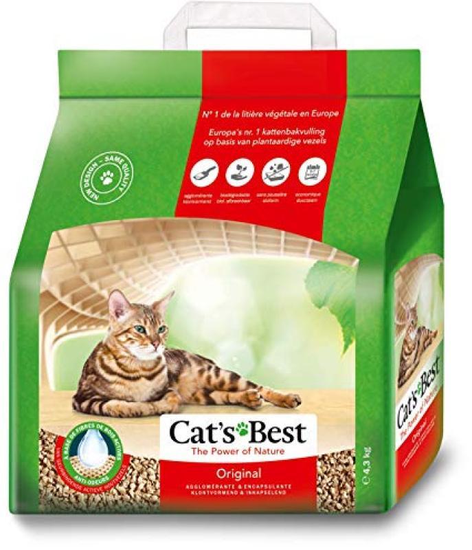 Cát vệ sinh hữu cơ cho mèo Cat Best làm từ gỗ