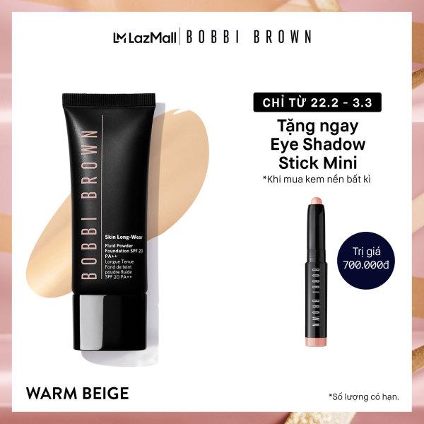Kem nền linh hoạt Phấn - Nước Bobbi Brown Skin Long-Wear Fluid Powder Foundation SPF 20 40ml
