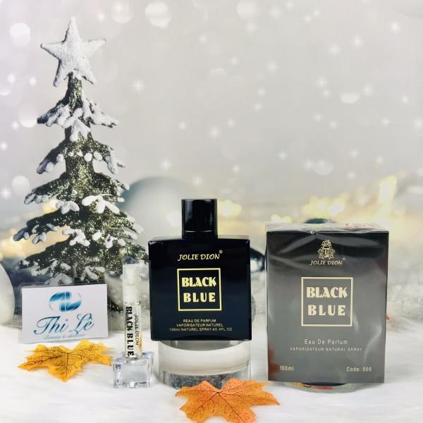 Nước hoa Singapore nam Black Blue  - Jolie Dion (Eau De Parfum EDP 100ml)
