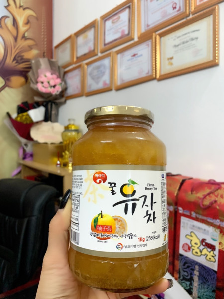Chanh mật ong Hàn Quốc