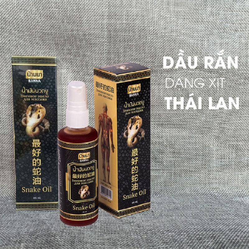 Dầu xoa bóp rắn dạng xịt Thái Lan