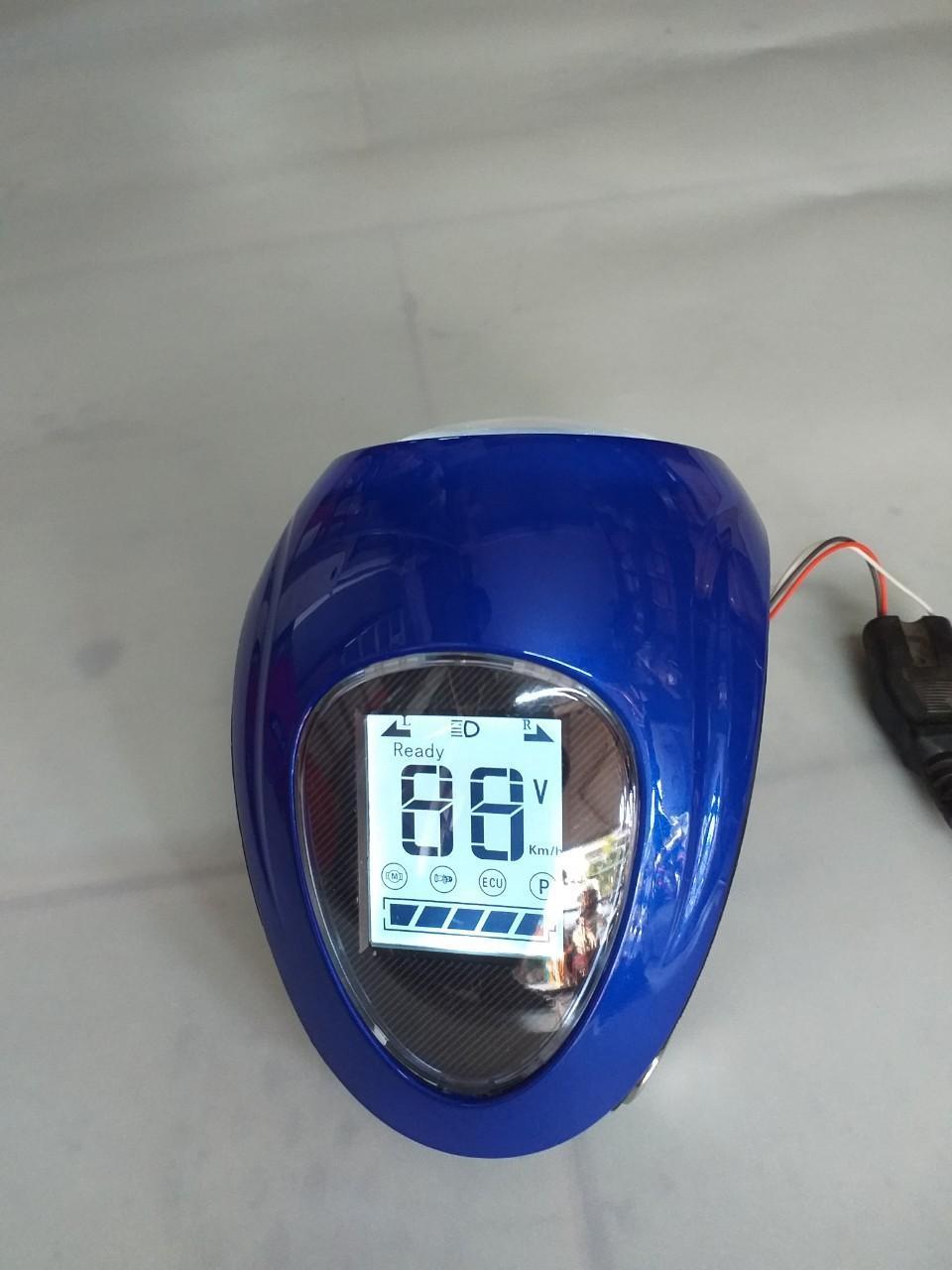 Mua đầu đèn LCD xe đạp điện giá tốt- dau den - đầu đèn báo tốc hiển thị led- đầu đèn xe điện kiểu mới