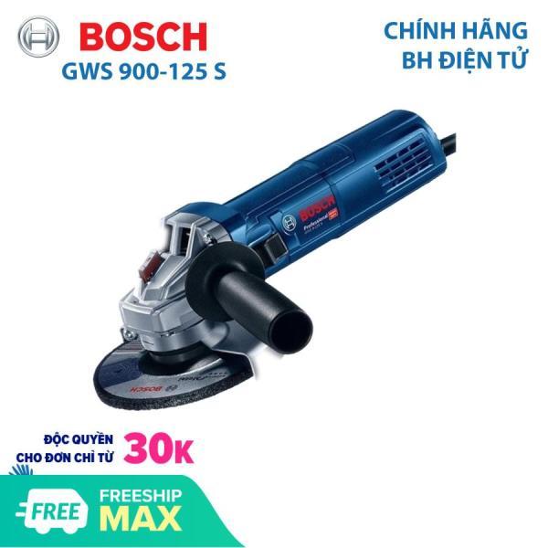 Máy mài góc Máy mài cầm tay Bosch GWS 900-125S Đá 125mm Bảo hành điện tử 12 tháng công suất 900W
