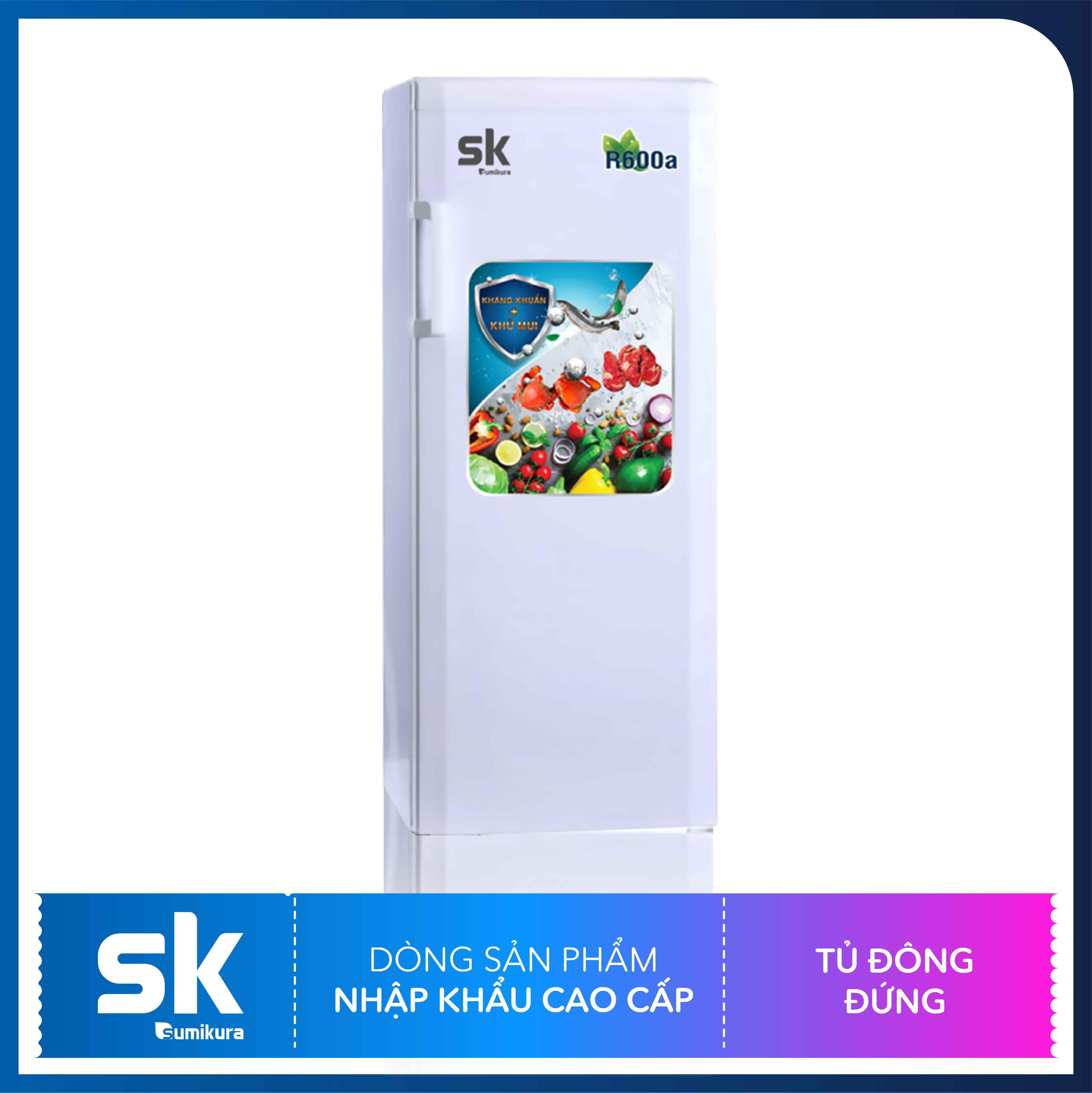 Tủ Đá 300 Lít SKFU-300 Sumikura