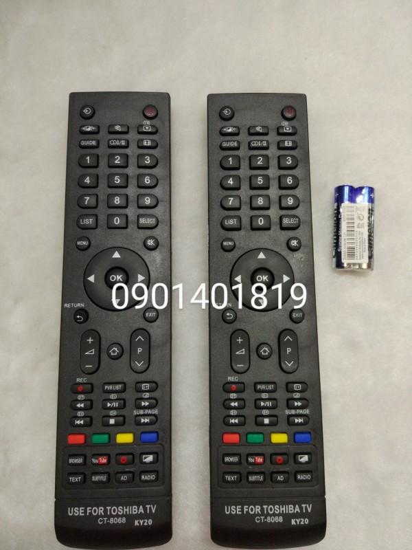Bảng giá Điều Khiển Tivi Toshiba  CT - 8068 ( hàng thường )