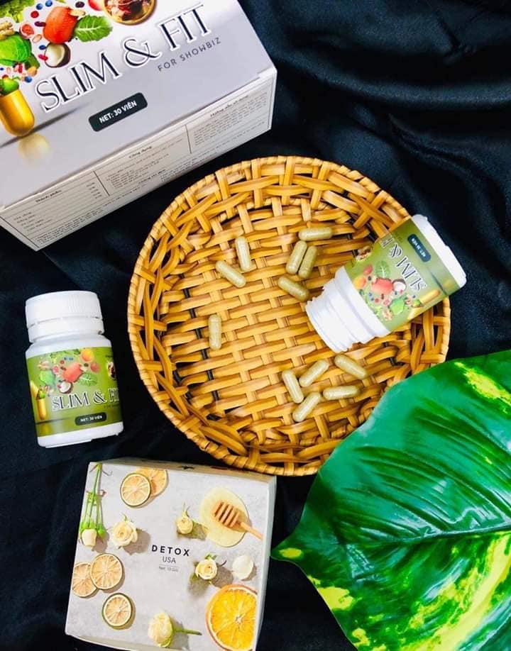 Viên Uống Giảm Cân Slim & fit - Giảm Béo Nâng Mông | Lazada.vn