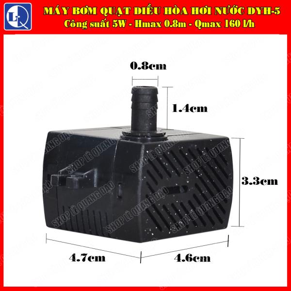 Máy bơm 5W quạt điều hòa hơi nước