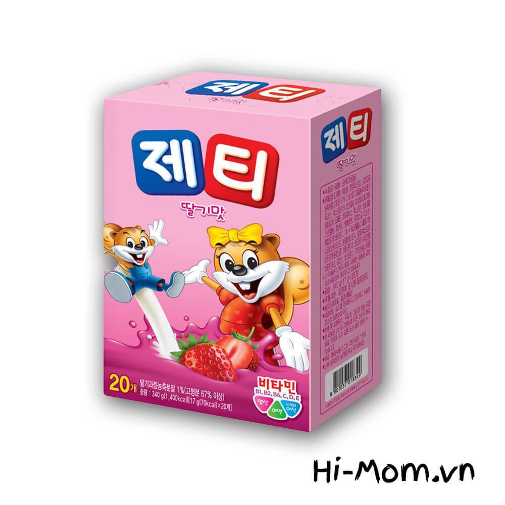 Lazada Giảm Giá Khi Mua Sữa Trẻ Em Jetty Dâu (17g*20T), Hàn Quốc