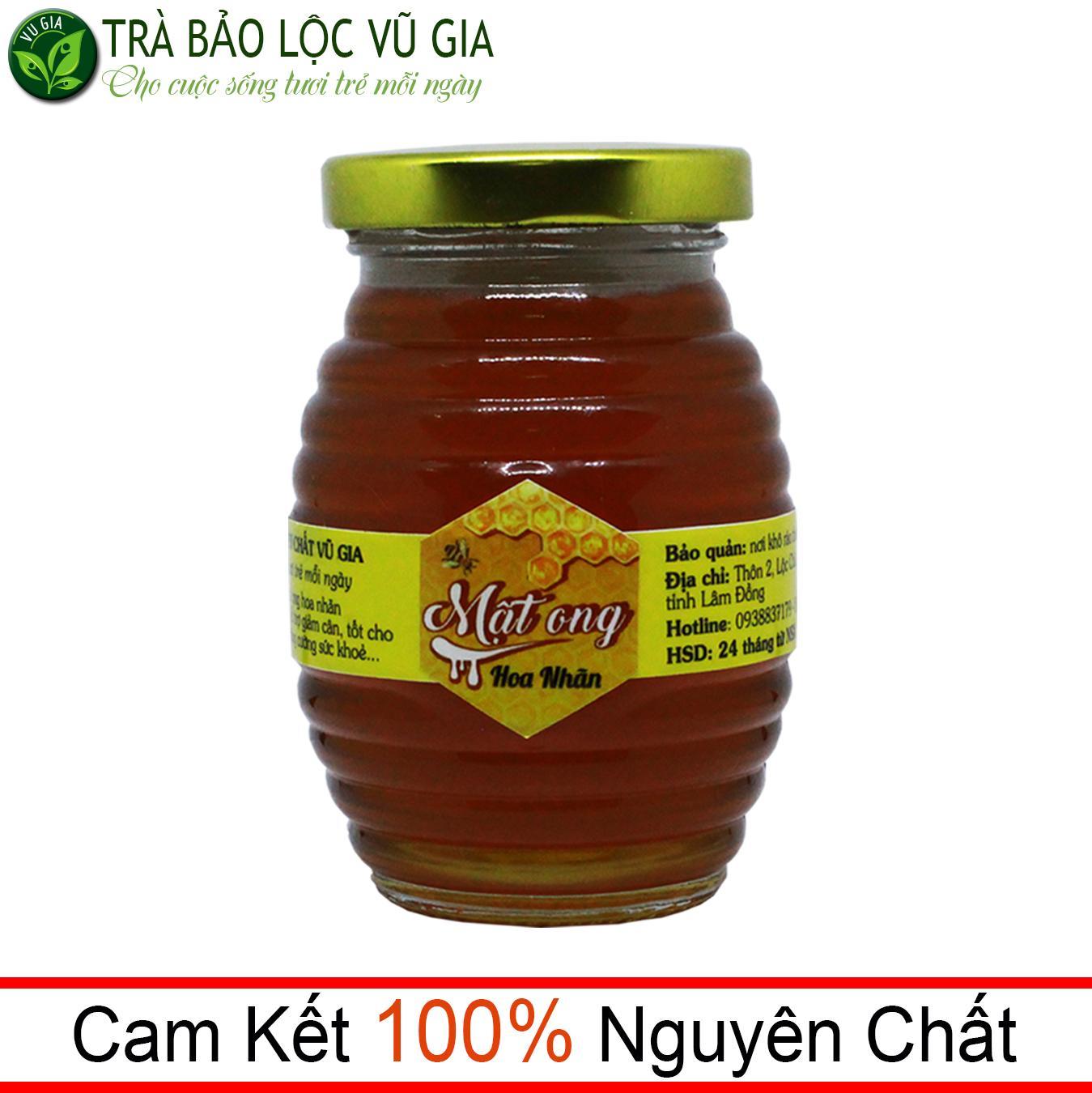 Mật Ong Hoa Nhãn Nguyên Chất Bảo Lộc VG  (100ml/hũ)