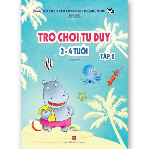 Mua Sách thiếu nhi - TRÒ CHƠI TƯ DUY 3-4 tuổi (Tập 2)