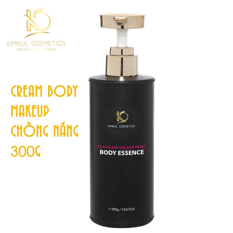 Kem Body trắng da KimKul Body Essence 300G - Kem Body dưỡng trắng makeup chống nắng giúp dưỡng trắng da ngừa lão hóa