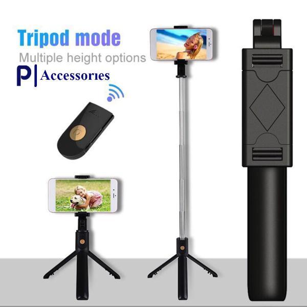 Gậy Tripod 3 Chân Selfie Stick-Kết nối bằng bluetooth