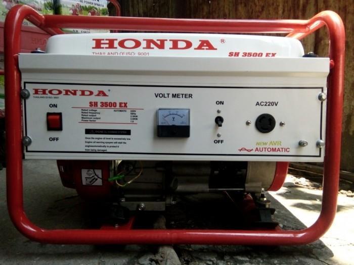Máy phát điện HONDA 3500EX- Thái Lan,đề nổ,le gió tự động
