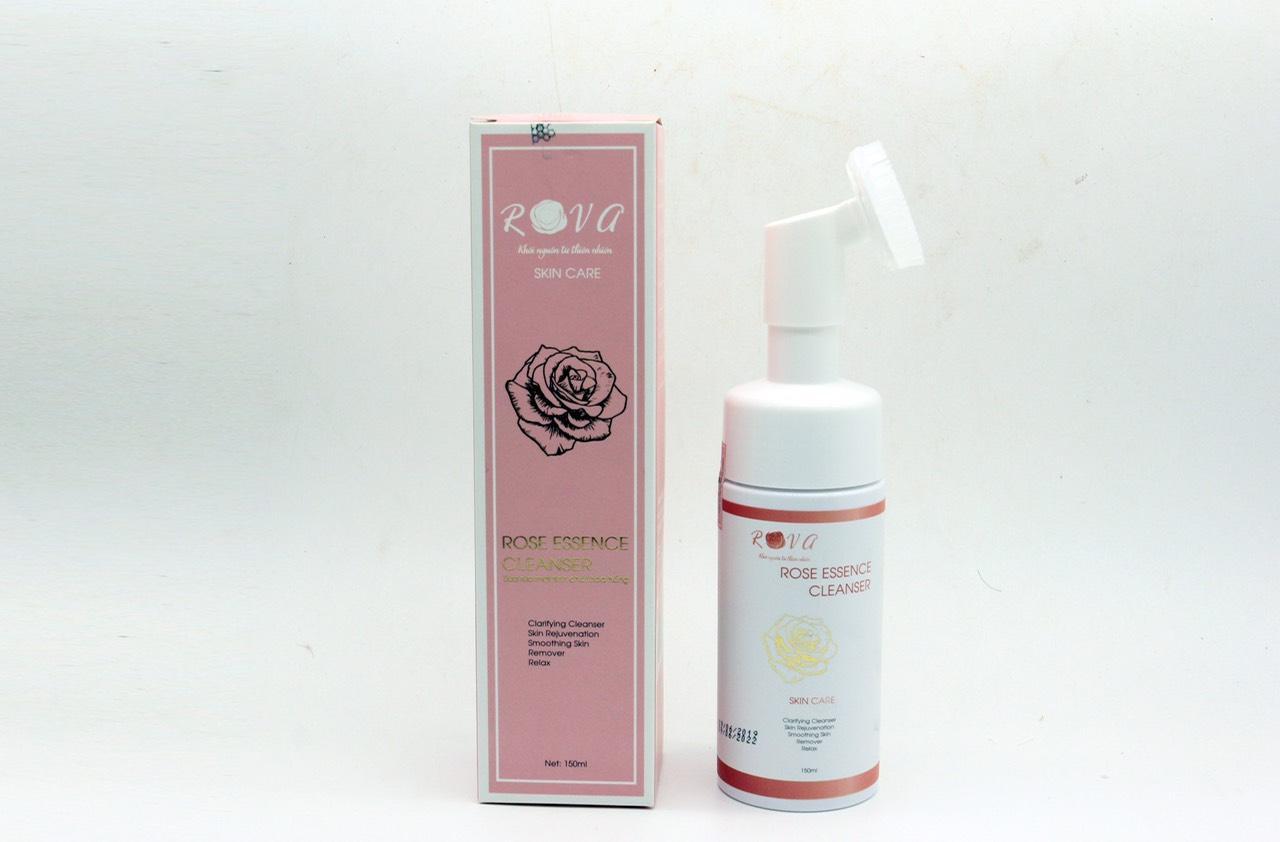 Bộ 2 lọ sữa rửa mặt tinh chất hoa hồng Rova làm sạch sâu, tẩy trang và có sfp50 tốt nhất