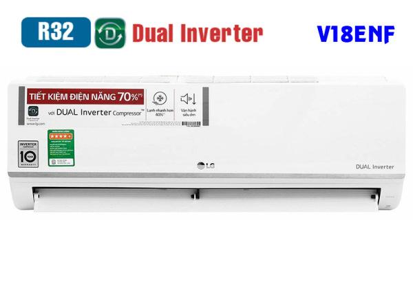 Máy Lạnh Inverter LG V18ENF (2HP)