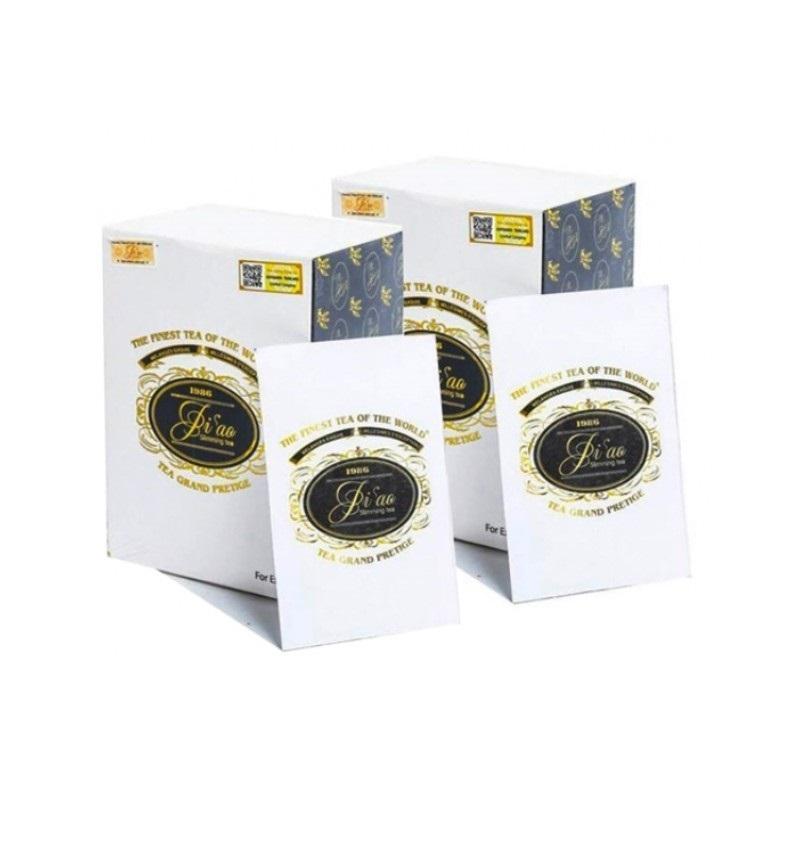 4 hộp Trà giảm cân biao slimming tea