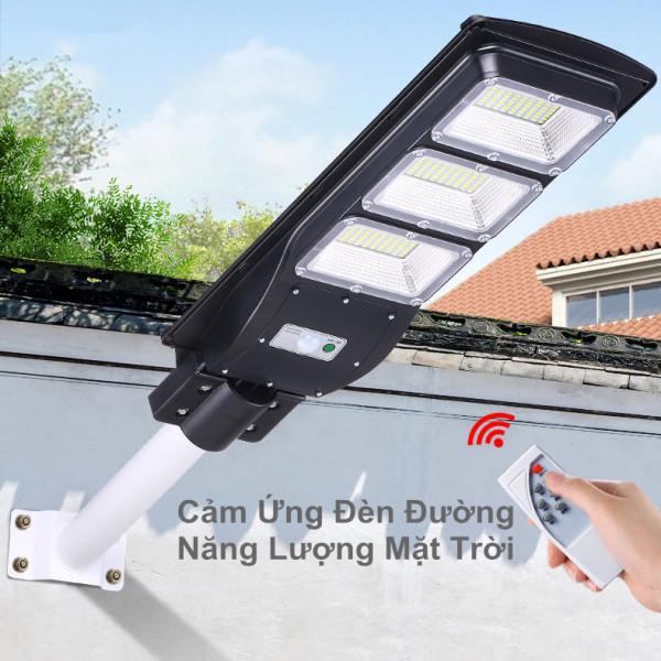 Bộ đèn led đường năng lượng mặt trời tích hợp ngoài trời cảm ứng năng lượng mặt trời Tiết kiệm năng lượng mà không tiêu thụ điện 30w 60W 90W( sáng trắng )