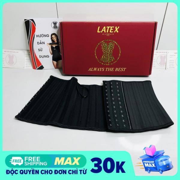 [CAM KẾT chất lượng tương đương 1200K] Đai Nịt Bụng latex 25 xương cao 23cm, đai nịt bụng giảm mỡ Chuẩn Hi Lạp