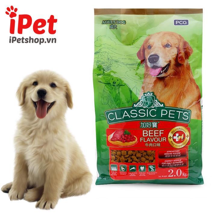 Thức Ăn Cho Chó Và Lớn Nhỏ Classic Adult & Puppy 400g - Ipet Shop By Ipet Shop.