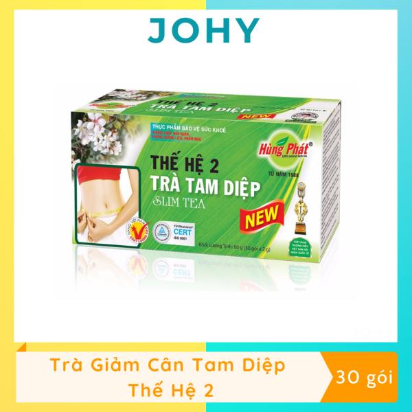 Trà Tam Diệp Slim Tea Thế Hệ 2 (Hộp 30 gói)