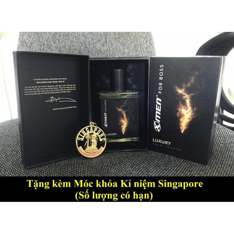 Nước hoa cao cấp Xmen for Boss Luxury 2018 tặng kèm móc khóa Singapore