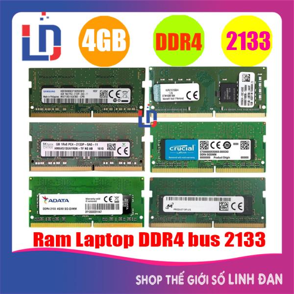 Bảng giá Ram Laptop 4GB DDR4 Bus 2133 (nhiều hãng)Kingston samsung Hynix - LTR4 4GB Phong Vũ