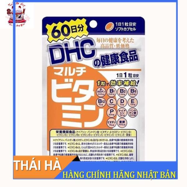 Viên Uống DHC Tổng Hợp 60 Viên Bổ Sung Đầy Đủ Vitamin Tăng Sức Đề Kháng