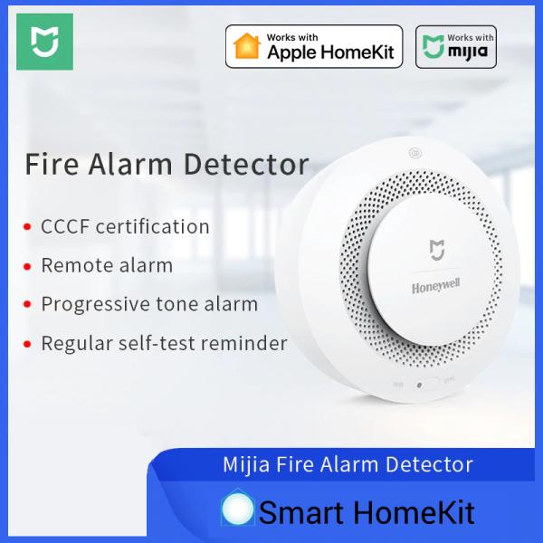 Cảm biến khói Xiaomi Mijia Honeywell tương thích Apple HomeKit, Mi Home